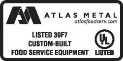 Atlas Metal UL 39F7 Custom Built FSE